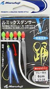 まるふじ(Marufuji) ルミックスダンンサー LV-20 6cm ブルー発光