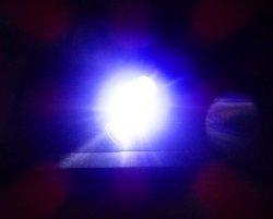 画像4: (クラス最大光量!)オリジナル水中ライト・強力LED・青緑(ブルーグリーン)限定品!!