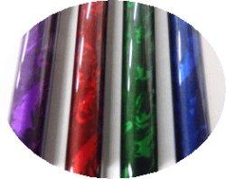 オプションカラー ボナカラー。↑ ボナ(左から 紫、赤、緑、青)